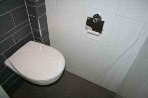 Binnen werk sanitair